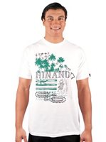 Hinano Tahiti Ali'i White Men's T-Shirt