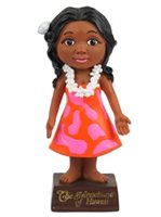 KC Hawaii Aunty Menehune Mini Dashboard Doll