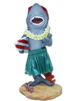 KC Hawaii Surfboard Shark Mini Dashboard Doll