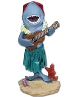 KC Hawaii Ukulele Shark Mini Dashboard Doll