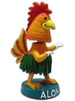 KC Hawaii Chicken Mini Dashboard Doll