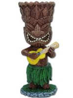 KC Hawaii Tiki Ukulele Mini Dashboard Doll