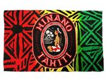 Hinano Tahiti Rini Black Screen Printed Pareo