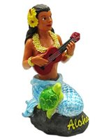 KC Hawaii Napua Mermaid Mini Dashboard Doll