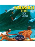 Pacifica Island Art Hawaiian Bound 2020 Deluxe Hawaiian Wall Calendar