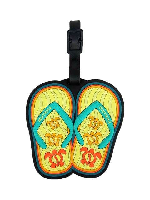 f0a0726601c1 Slippers Island Style Luggage Tag