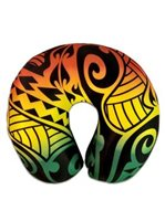 KC Hawaii Rasta Island Style Neck Pillow