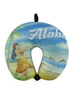 KC Hawaii Aloha Hula Island Style Neck Pillow