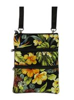 KC Hawaii Tropical Island Impressions Neck Wallet