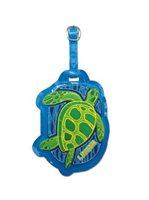 Island Heritage Honu Deluxe Faux Luggage Tag