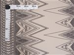 Manini Tapa Black & Beige Poly Cotton QSQ-13-809