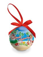 Island Heritage Holiday Honeys Glossy Island Ornaments