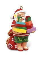 Island Heritage Santa's Presents Hand Painted Ornament