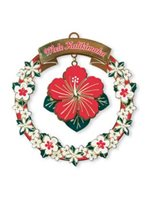 Island Heritage Mele Hibiscus Collectible Ornament