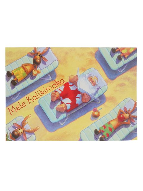 Mele Kalikimaka Christmas Cards.Mele K Downtime Boxed Christmas Cards