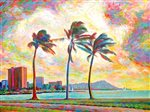 David Friedman Ala Moana Cloud Wall Art 11x14