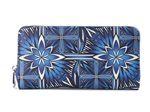Happy Wahine Golden Lavi Blue Long Wallet Kaylee