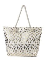 Happy Wahine Terumi Butterfly Beach Tote