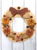 Aloha Wood Art Hawaiian Flowers  Wood wreath
