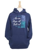 Navy Cotton 2020 Unisex Merrie Monarch Official Hoodie