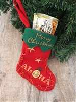 [Exclusive] Christmas Stocking & Chocolate Holiday Gift Set
