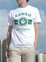 [Exclusive] UH Classic Seal White Unisex Men's Hawaiian T-Shirt