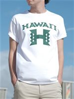 [Exclusive] UH Big H White Unisex Hawaiian T-Shirt