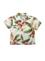 Two Palms Sonic Beige Rayon Boys Hawaiian Shirt