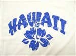 Blue Hibiscus Multiple Colors Cotton Women's Hawaiian T-Shirt
