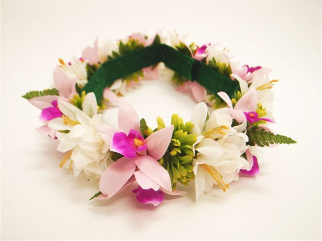 Tropical Multi Flowers Headband (Haku Lei)  a7ae5d134a7
