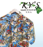 97c9d9fbdcc KY S International Fashion Inc.is one of the largest Hawaiian apparel  manufacturers. All of KY S clothing are 100% made in Hawaii.