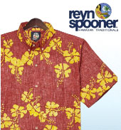 d9690c6a Reyn Spooner Hawaiian shirts celebrate the past in authentic patterns that  recall the nostalgic heyday of Hawaii's most famous product.