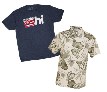 Hawaii T-Shirts for Men
