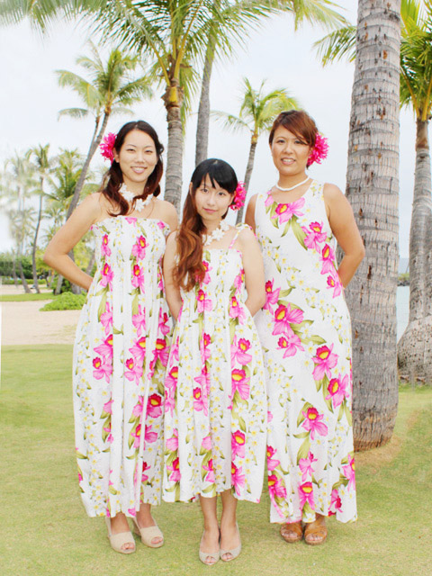 Hawaiian dress Coordinate